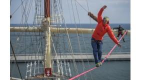 Międzynarodowe zawody slacklinowe – Red Bull Slackship już za miesiąc w Gdyni!