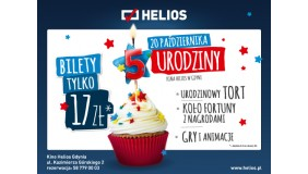 5. Urodziny Kina Helios w Gdyni (CH Riviera)