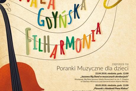"""Mała Gdyńska Filharmonia """"Piosenki z Akademii Pana Kleksa"""""""