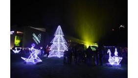 Gdynia rozbłysła tysiącami świątecznych światełek