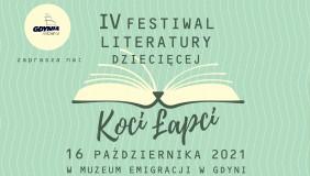 """Festiwal książki dla dzieci Koci Łapci i premiera książeczki gdynieczki """"Legenda o zbóju Bernardzie""""!"""