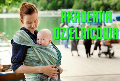Kieszonka- warsztat praktyczny z wiązania dziecka w chuście (1-4 miesiące)