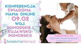 """Konferencja on-line dla rodziców i przyszłych rodziców """"Świadoma mama"""""""