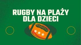 Rugby dla dzieci na plaży