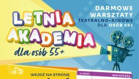 Sztuka dla Wnuka – warsztaty teatralno-filmowe dla osób 55+ w Gdyńskim Centrum Animacji