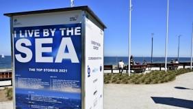 """Wystawa prac międzynarodowego konkursu """"I live by the sea"""""""