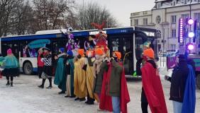 Nagrody dla najbystrzejszych obserwatorów urodzinowego autobusu PKM rozdane!