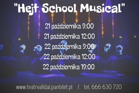 "Spektakl Teatru Komedii Valldal pt ""Hejt School Musical"""
