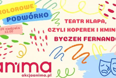 Teatrzyk na Kolorowym Podwórku!