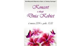Koncert z okazji Międzynarodowego Dnia Kobiet