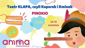 """Kolorowe Podwórko, Teatr KLAPA """"Pinokio"""""""