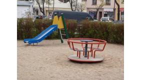 Plac zabaw przy Pl. Górnośląskim